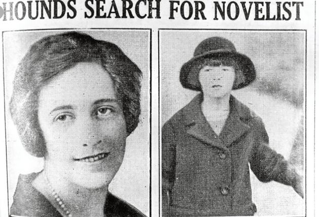Young Agatha Christie.