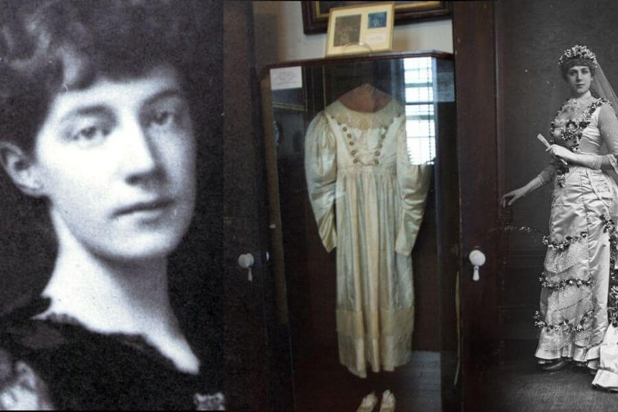 The Legend Of Anna Baker And Her Haunted Wedding Dress