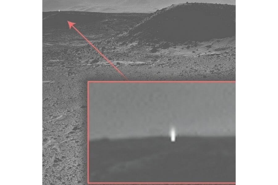 Strange Things Found On Mars